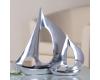"""Casablanca Design """"Парус"""" 32619 Фигурка маленькая алюминиевая"""