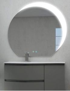 Cezares Moderno 45010 Зеркало для ванной с LED подсветкой, 100х108 см