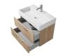 Creto Tivoli 8-1377S – Тумба подвесная 80 см с раковиной, Soft