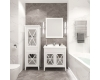 Creto Vetra 15-6070W – Зеркало 60 см белый