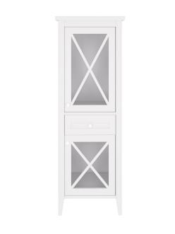 Creto Vetra 15-16056W – Пенал напольный 55 см, белый