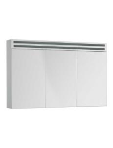 De Aqua Эколь 120 – Зеркальный шкаф с подсветкой