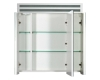 De Aqua Эколь 70 – Зеркальный шкаф для ванной комнаты с подсветкой