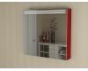 De Aqua Эколь 90 – Зеркальный шкаф для ванной комнаты с подсветкой