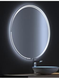 De Aqua Альфа – Зеркало для ванной со светодиодной LED-подсветкой и сенсором
