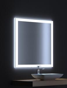De Aqua Сити 75 – Зеркало с LED-подсветкой и сенсором