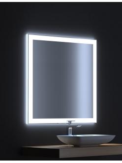 De Aqua Сити 75 – Зеркало для ванной со светодиодной LED-подсветкой и сенсором