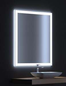 De Aqua Сити 90 – Зеркало с LED-подсветкой и сенсором