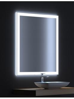 De Aqua Сити 90 – Зеркало для ванной со светодиодной LED-подсветкой и сенсором