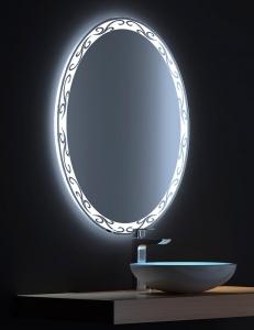 De Aqua Деко – Зеркало с LED-подсветкой и сенсором