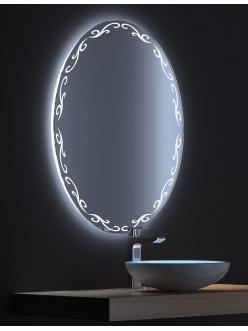De Aqua Декор – Зеркало для ванной со светодиодной LED-подсветкой и сенсором