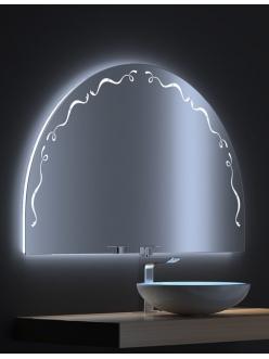 De Aqua Эскалада 117 New – Зеркало для ванной со светодиодной LED-подсветкой