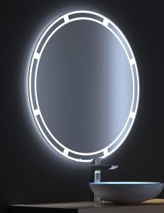 De Aqua Омега – Зеркало с LED-подсветкой и сенсором