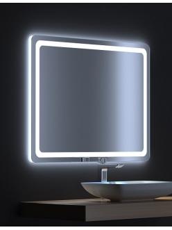 De Aqua Смарт – Зеркало для ванной со светодиодной LED-подсветкой и сенсором