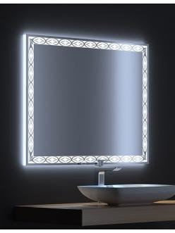 De Aqua Тренд – Зеркало для ванной со светодиодной LED-подсветкой и сенсором