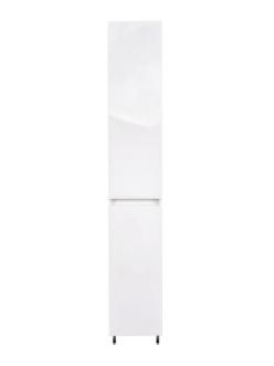 El Fante Даллас 30 Пенал напольный с бельевой корзиной, Белый глянец (СС-00000452)