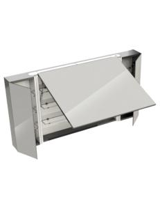 Eqloo Grana 120 Подвесной зеркальный шкаф для ванной