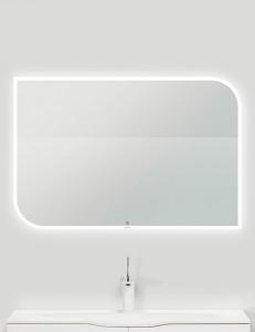 Eqloo Lumia прямоугольное зеркало для ванной со светодиодной подсветкой