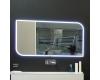 Eqloo Lumia – прямоугольное зеркало для ванной со светодиодной LED подсветкой