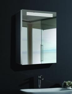Esbano ES-2402 Зеркальный шкаф с led подсветкой, розеткой, линзой и ИК-датчиком