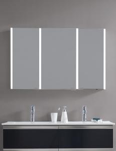 Esbano ES-3820 Зеркальный шкаф с led подсветкой, розеткой и ИК-датчиком