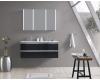 Esbano ES-3820 Зеркальный шкаф для ванной с подсветкой, 110х70 см