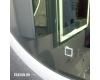Esbano ES-2481 Круглое зеркало для ванной с подсветкой и подогревом