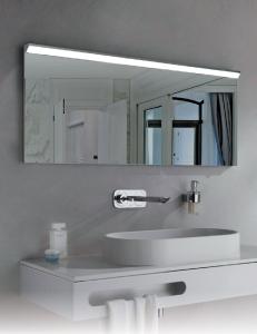Esbano ES-2597 Зеркало горизонтальное с подсветкой и функцией антизапотевания