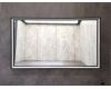 Esbano ES-3848KDB Зеркало для ванной с подсветкой, 100х70 см