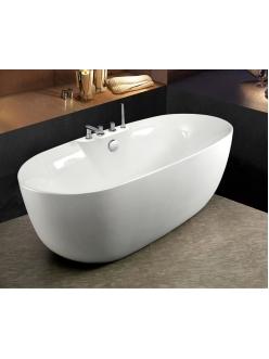 Esbano Rome-SM (White) Ванна отдельностоящая со встроенным смесителем