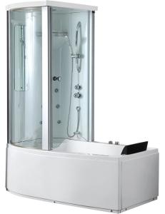 Gemy G8040 B Ванна гидромассажная пристенная 170х85 см, белый