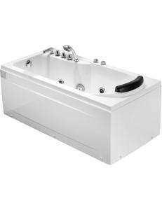 Gemy G9006-1.7 B Ванна гидромассажная пристенная 172х77 см, белый