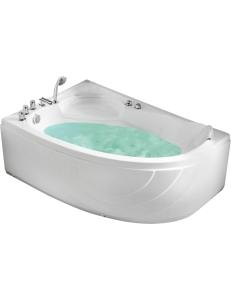 Gemy G9009 B Ванна гидромассажная пристенная 150х100 см, белый