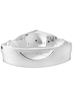 Gemy G9025 II B  Ванна гидромассажная пристенная, 150х150 см, белый