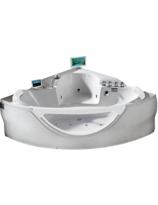 Gemy G9025 II O Ванна гидромассажная пристенная 150х150 см, белый