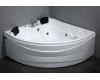 Gemy G9041 K Ванна гидромассажная пристенная, 150х150 см, белый