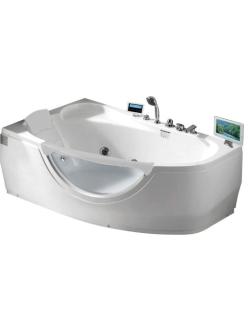 Gemy G9046 II O Ванна гидромассажная пристенная, 171х99 см, белый