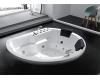 Gemy G9053 K Ванна гидромассажная встраиваемая, 185х162  см, белый