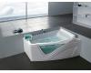 Gemy G9056 O Ванна гидромассажная пристенная, 170х130 см, белый
