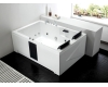 Gemy G9061 B Ванна гидромассажная пристенная, 181х121 см, белый