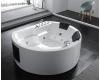 Gemy G9063 K Ванна гидромассажная отдельностоящая, 183х162 см, белый