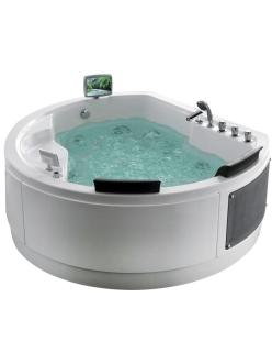 Gemy G9063 O Ванна гидромассажная отдельностоящая, 183х162 см, белый