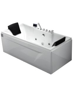 Gemy G9065 K Ванна гидромассажная пристенная, 175х85 см, белый