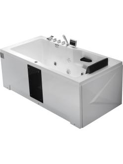 Gemy G9066 II K Ванна гидромассажная пристенная, 171х86 см, белый