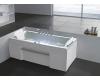 Gemy G9076 B Ванна гидромассажная пристенная, 177х81 см, белый