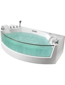 Gemy G9079 Ванна пристенная с аэромассажем 200х105 см