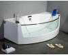Gemy G9079 Ванна аэромассажная пристенная со стеклянной вставкой, 200х105 см