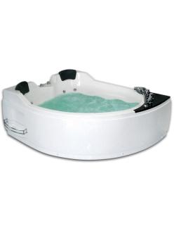 Gemy G9086 B Ванна гидромассажная пристенная, 170х133 см, белый