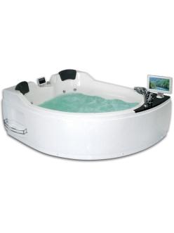 Gemy G9086 O Ванна гидромассажная пристенная, 170х133 см, белый