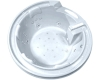 Gemy G9090 O Ванна гидромассажная встраиваемая, 190х190 см, белый